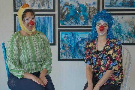 Les Bouffonnes, duo de clown